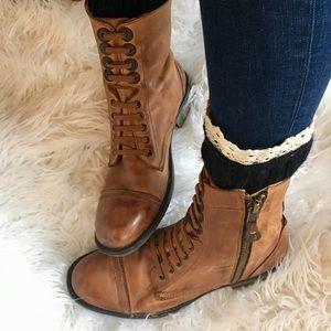 🍁🍂Men's Steve Madden Leather Boot